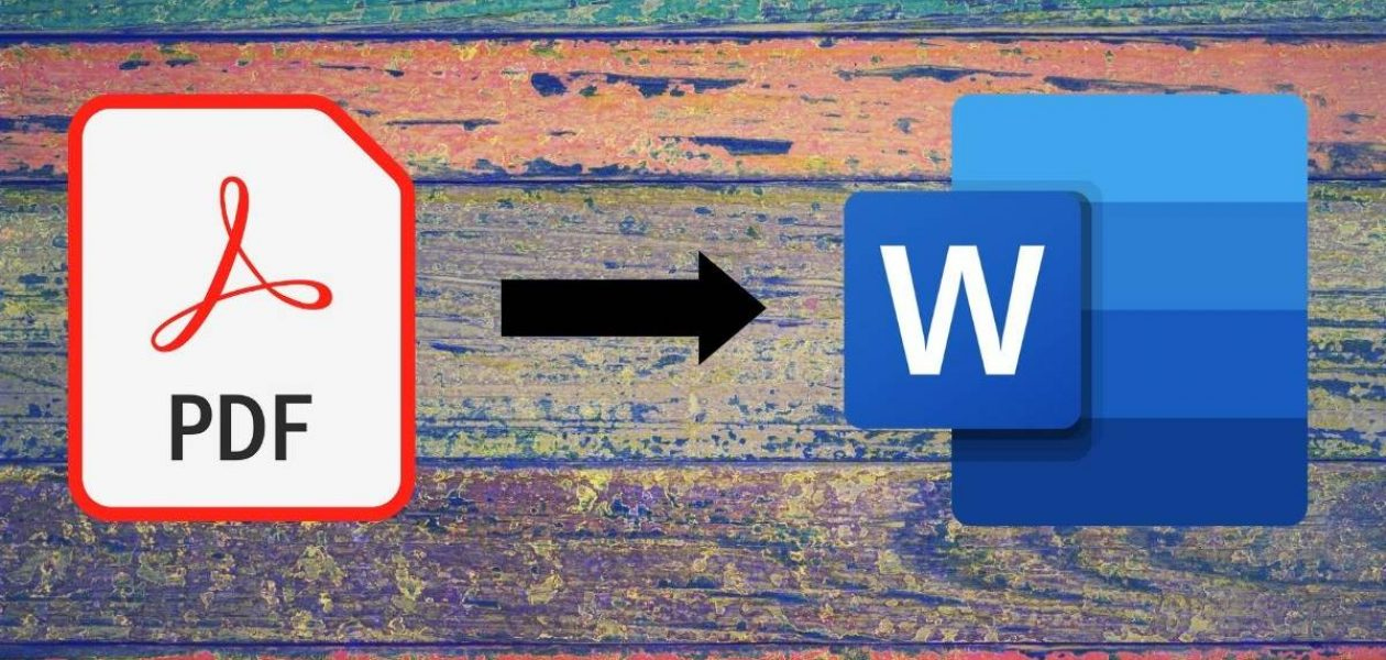 Convert Pdf to word For The Ease Of Editing
